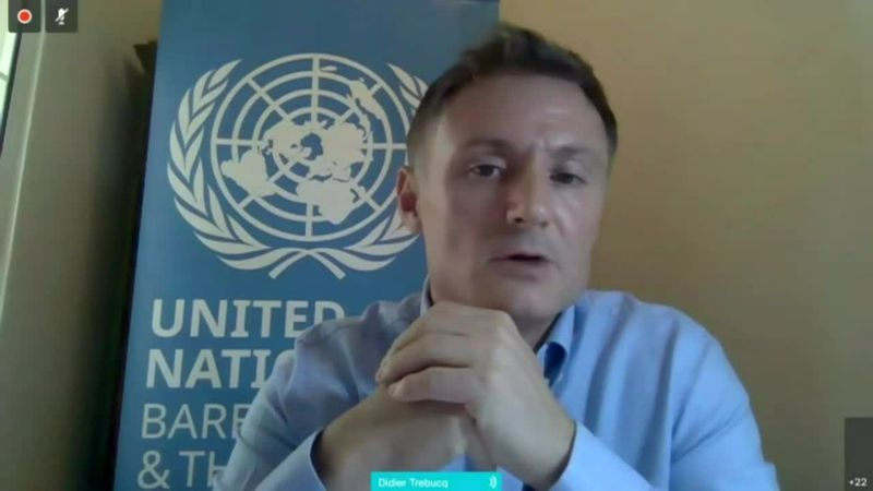 The humanitarian crisis following the eruption on St Vincent island could last for months, a UN...