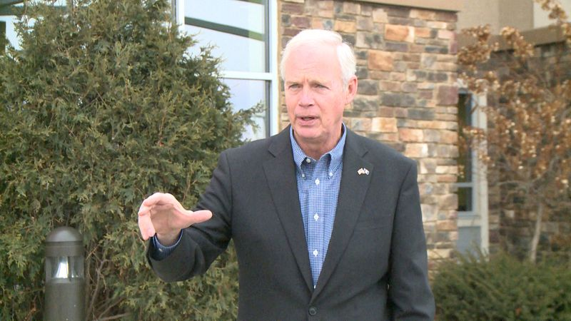 Ron Johnson in Eau Claire