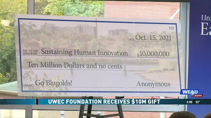 UWEC Foundation Receives $10M Gift