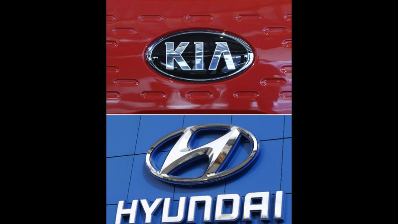 Kia and Hyundai Logos