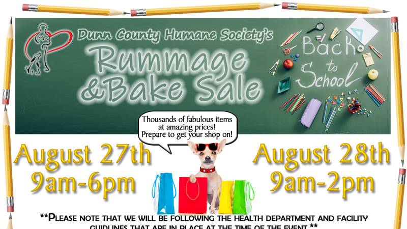 DCHS Rummage and Bake Sale