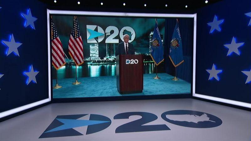 Gov. Evers delivers remarks at DNC