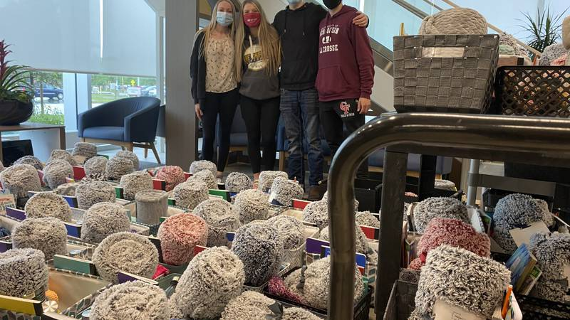 Students in Future Business Leaders Of America at Chippewa Falls High School raised money to...