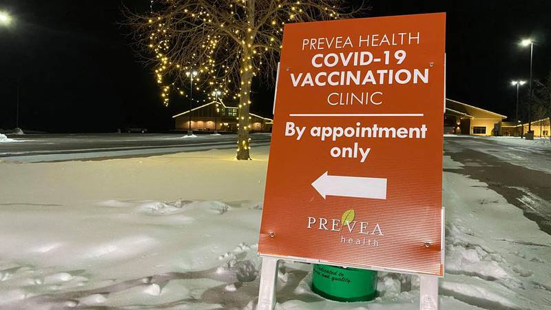 Appointments are required for the Prevea Community COVID-19 Vaccination Clinic at Jacob's Well...