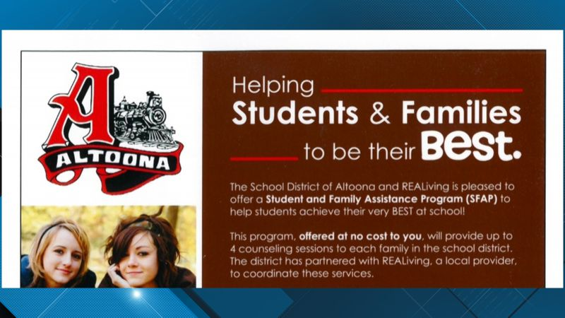 Free counseling sessions for families in some school districts