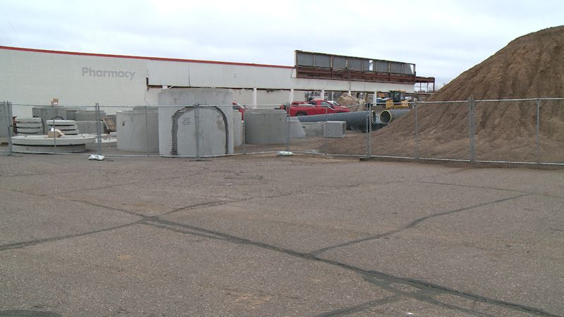 Demolition is underway on the former Kmart site in Eau Claire, with plans to turn it into a new...
