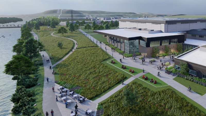 UW-Eau Claire released new imaging of the proposed Sonnentag Center.