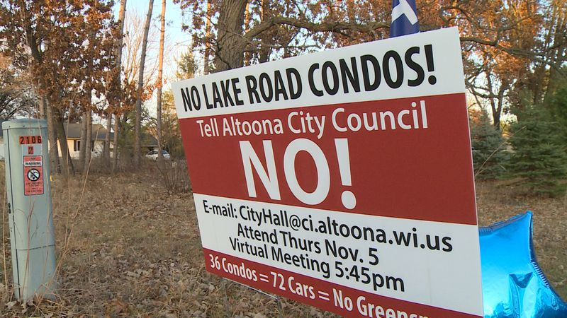 Neighbors in Altoona are voicing their opposition to a proposal for a 36-unit condominium...
