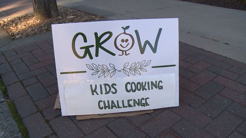 GROW La Crosse handed out mystery produce bags to close to 70 competitors outside the...