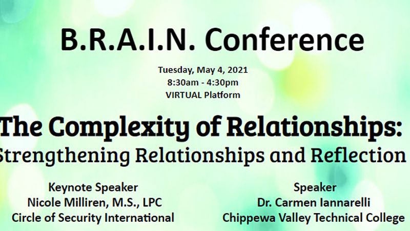 B.R.A.I.N. Conference set for May 4.