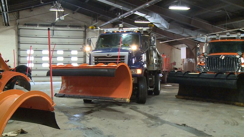 In preparation for Tuesday's snowstorm, all trucks have been maintained to be out on a 24-hour...