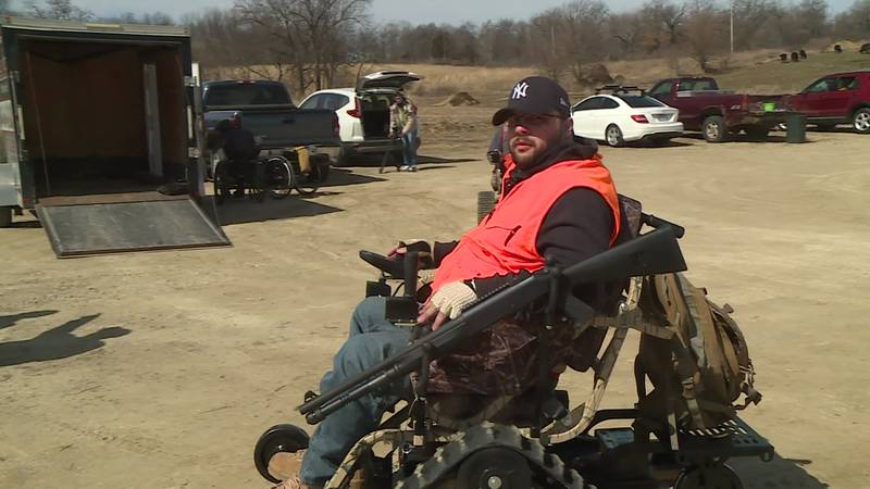 A donated wheelchair made for any kind of terrain is letting Cody Becker spend more time...
