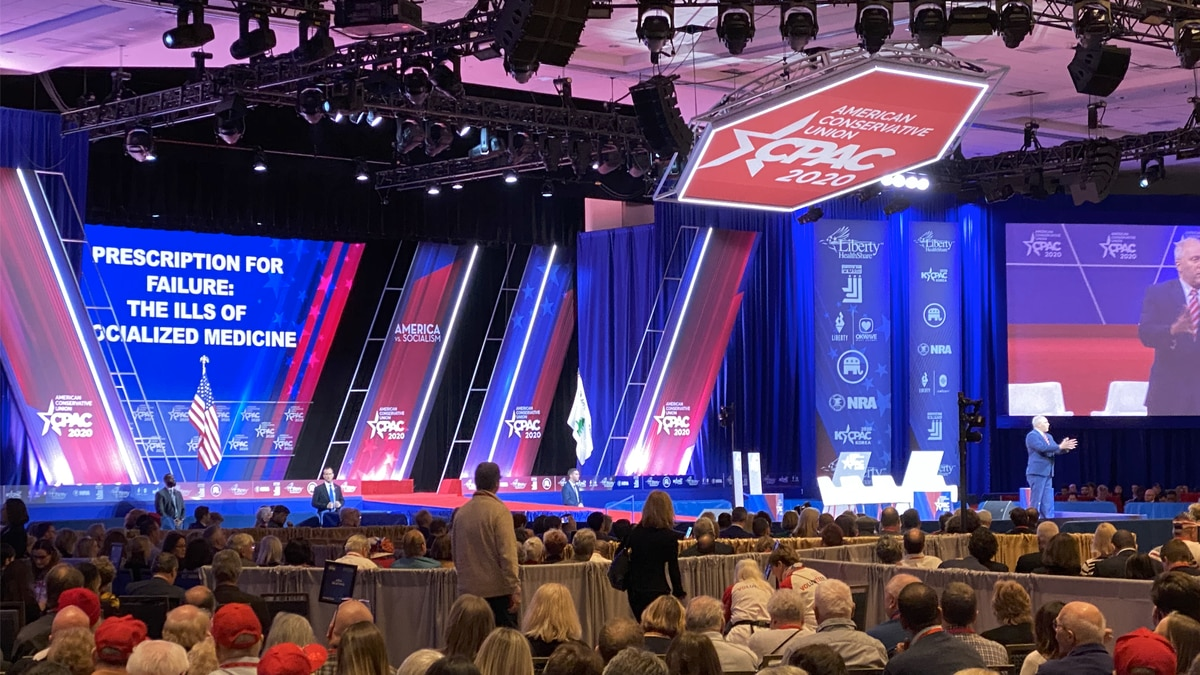 """Conservative fill the room Thursday morning during the panel, """"Prescription for Failure: The Ills of Socialized Medicine"""" at the annual CPAC conference at the Gaylord Resort and Convention Center in Oxon Hill, Md. (Source: Gray DC)"""