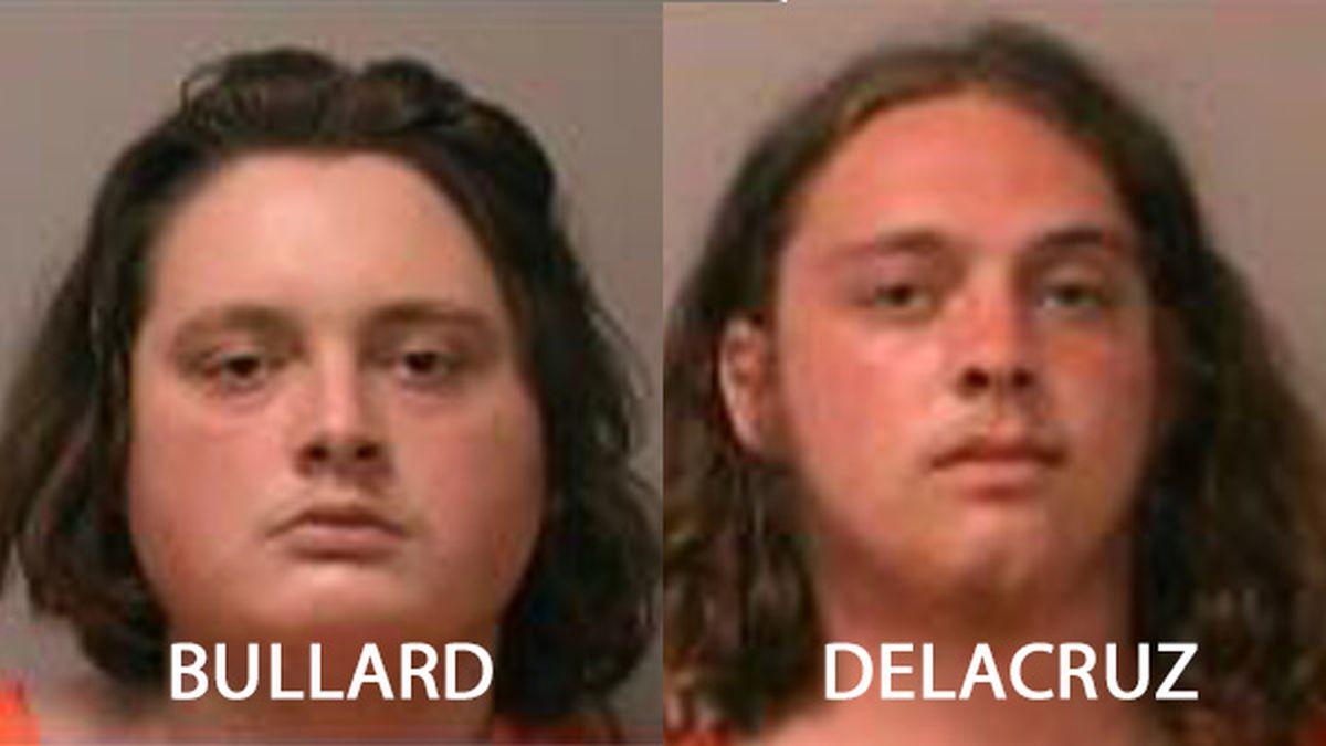 Roy Bullard and Mahlaki Delacruz were arrested in La Crosse after officers investigated gun...