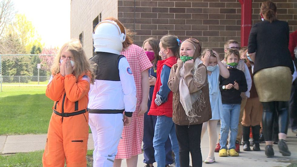 Halmstad second graders get red carpet experience