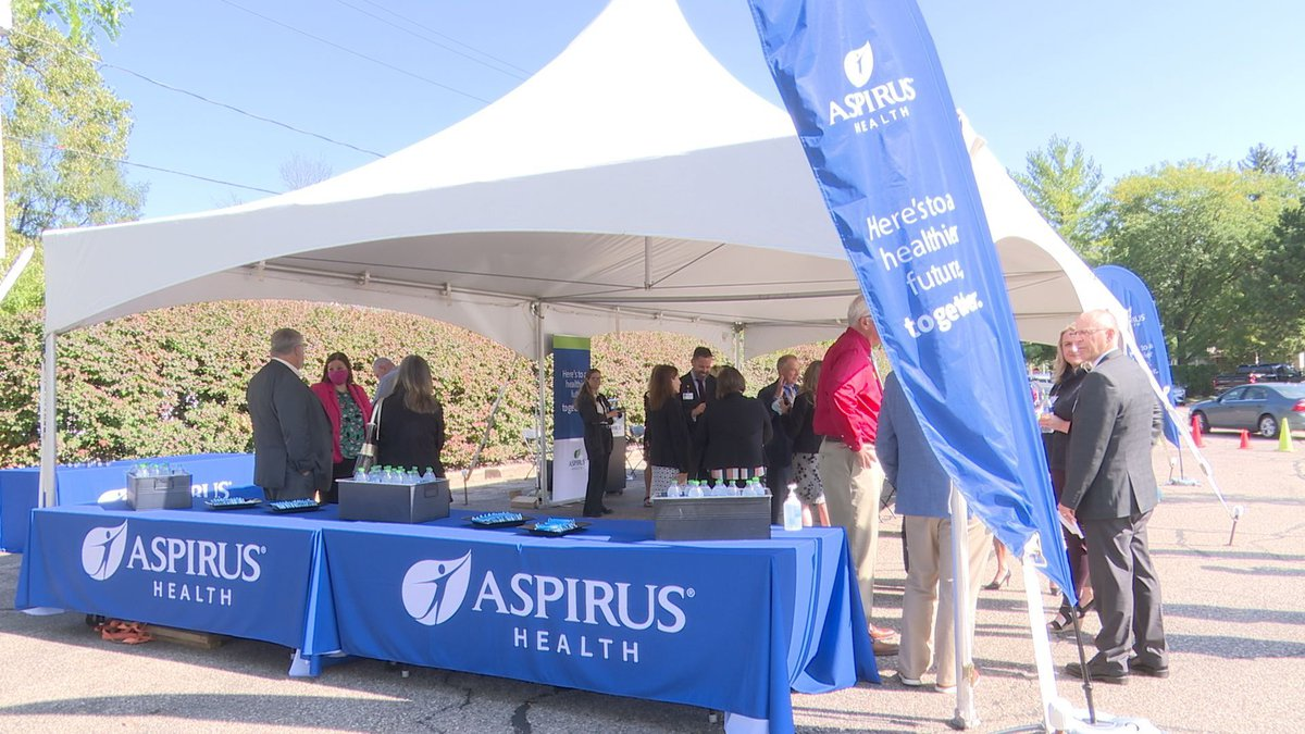 Aspirus held a welcoming ceremony on Sept. 13.