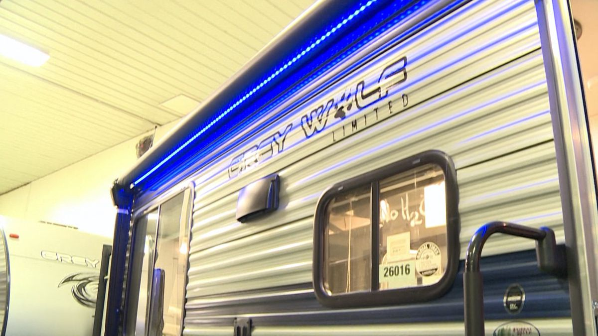 RV dealers struggle to keep up with high demand