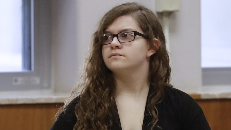 Anissa Weier listens during jury selection in her trial at Waukesha County Courthouse Monday,...