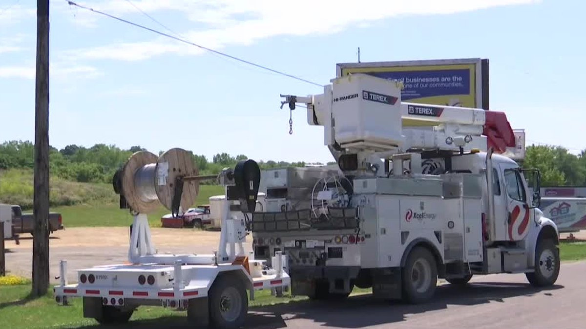 Xcel Energy says restoring power after storms roll through is a priority.
