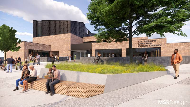 The Eau Claire City Council helped the expansion project at L.E. Phillips Memorial Public...