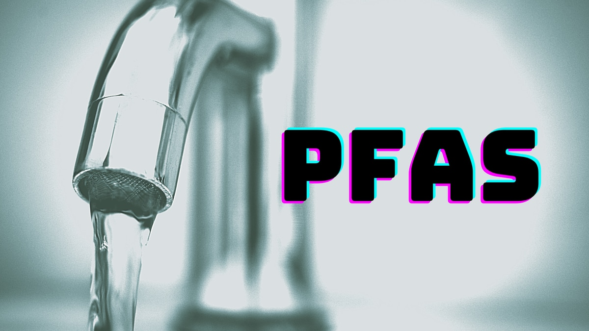 Per- and polyfluoroalkyl substances (PFAS)  can contaminate water sources.