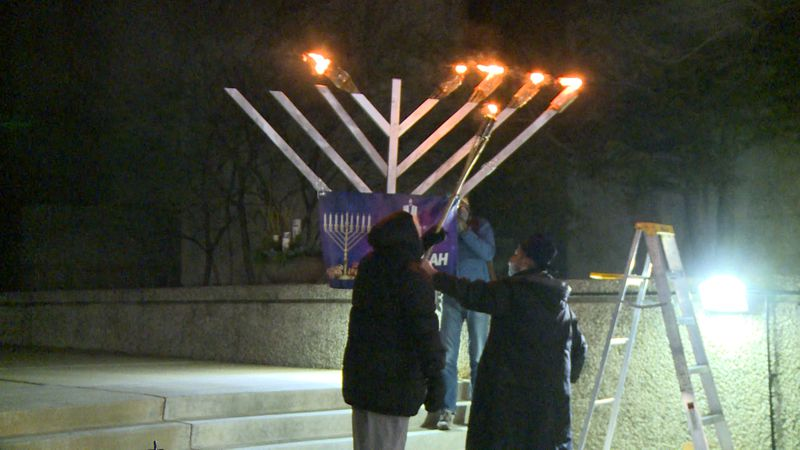It's a festival commemorating the re-dedication of the second temple in Jerusalem, and this...