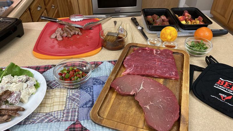 Wisconsin Beef Council recipes for steaks on the grill