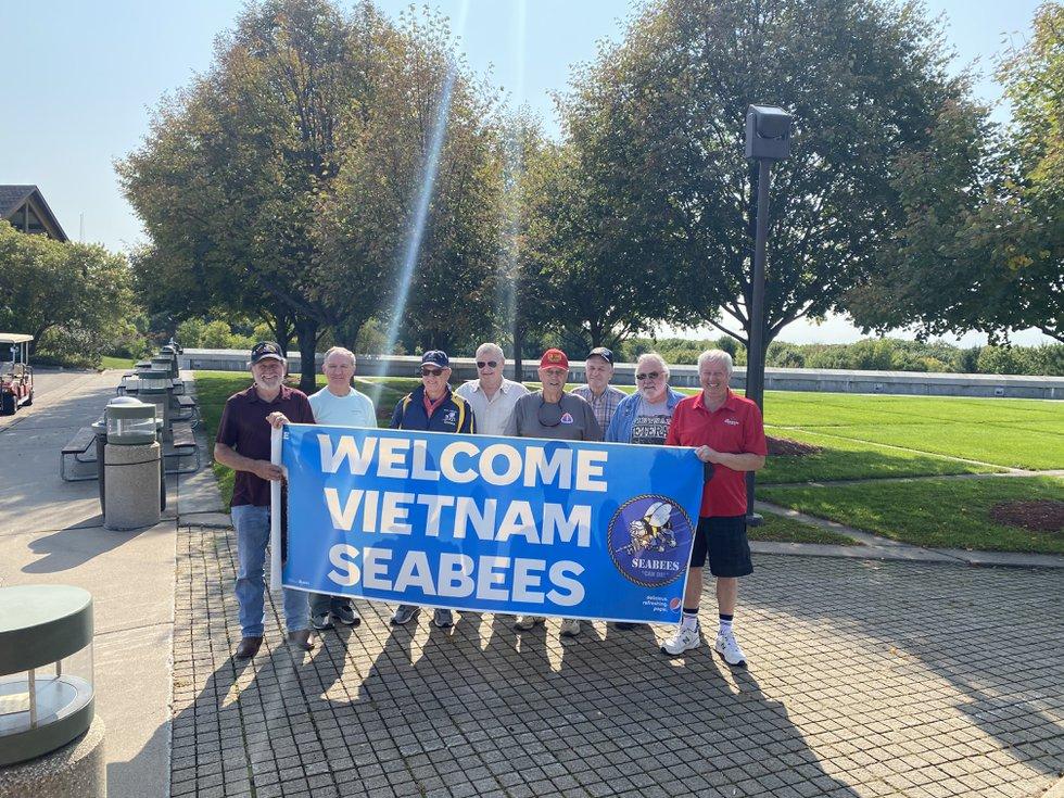 Photo of Vietnam Veteran Navy Seabees host reunion and visit the Highground   Leeann Stapleton