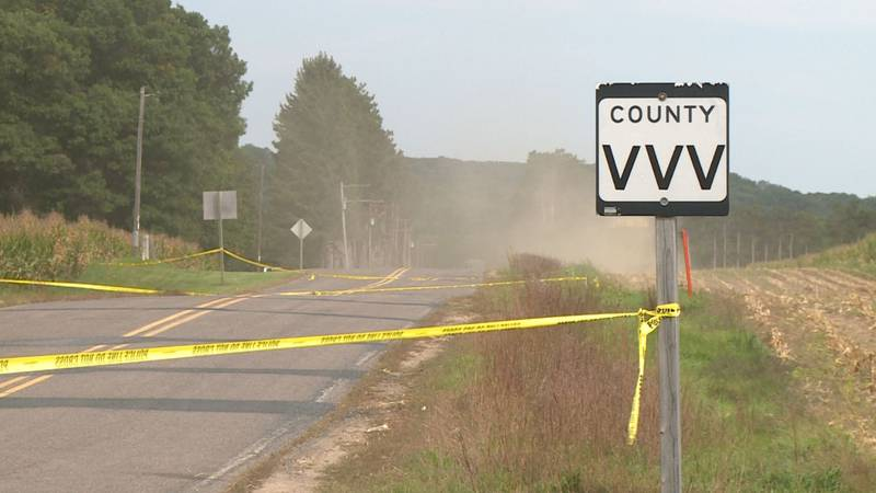 A suspicious death is being investigated in the Town of Sheridan in Dunn County. Police tape...