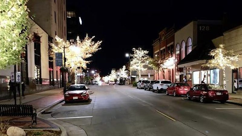 A group of local businesses are spreading holiday cheer in downtown Eau Claire just in time for...