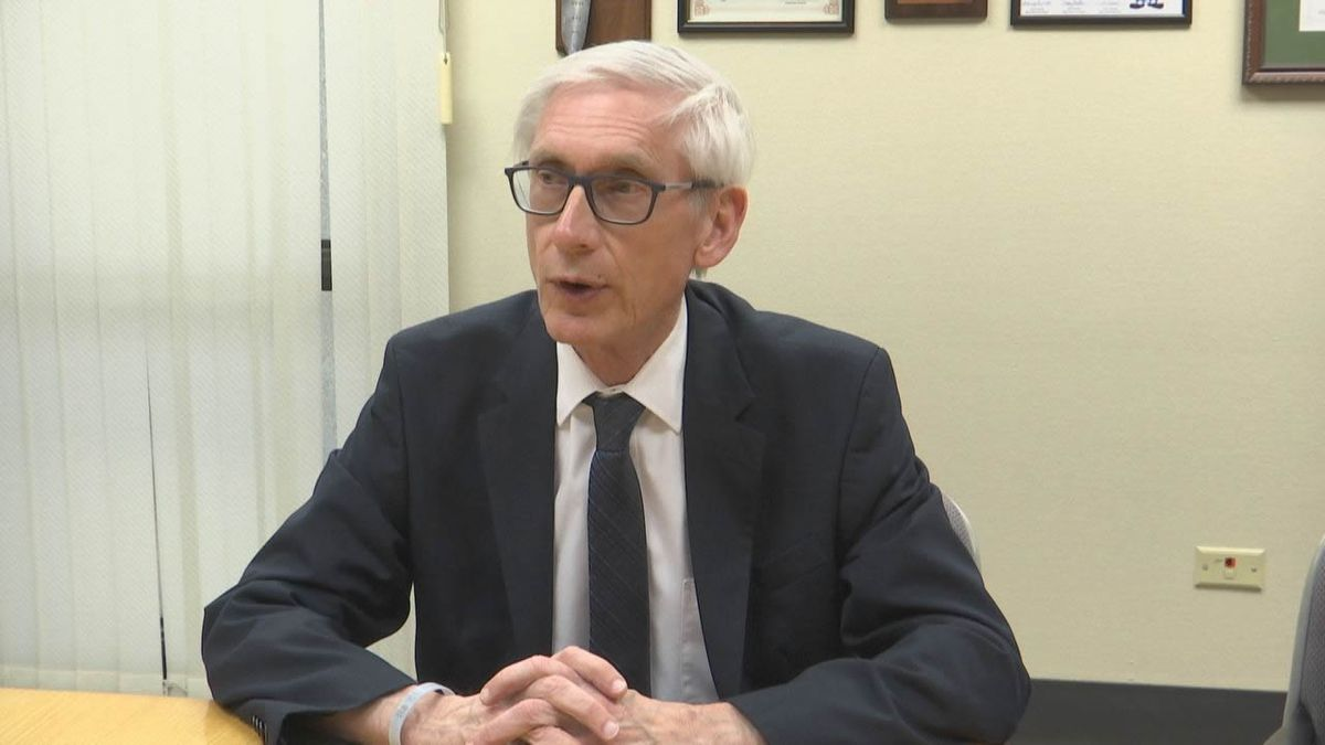 Gov. Evers praises the new CDC guidelines for masking for vaccinated people.