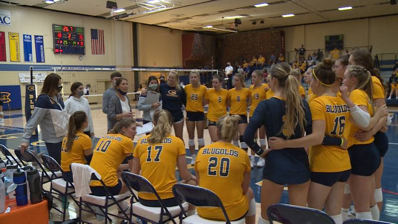 Blugolds Volleyball