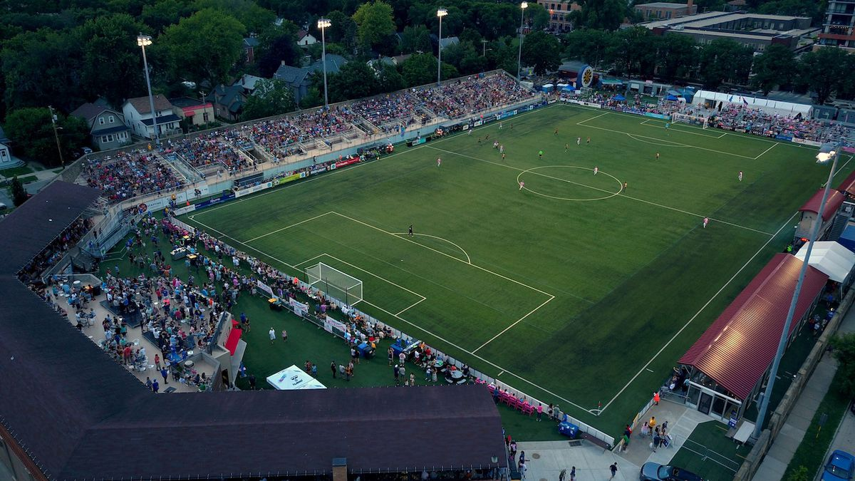 Forward Madison FC plans to return to Breese Stevens Field (pictured) for its 2021 home games.