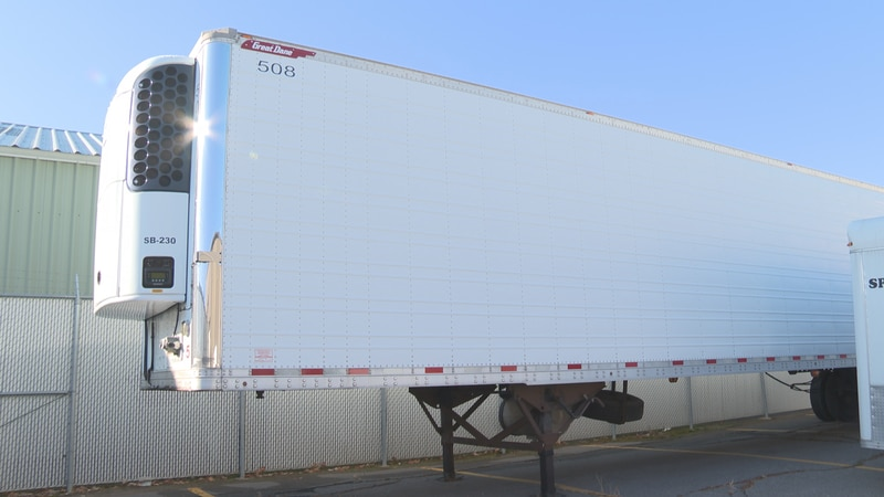 Refrigerated trailer in marathon county.