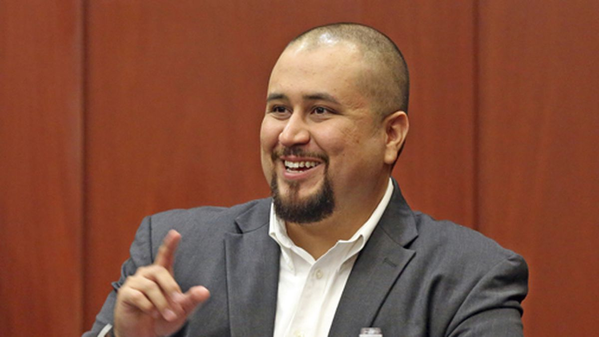 In this Sept. 13, 2016 file photo, George Zimmerman smiles as he testifies in a Seminole County...