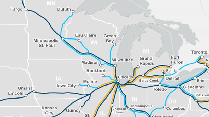 Amtrak proposes new and improved routes if the Biden Administration's infrastructure plan passes.
