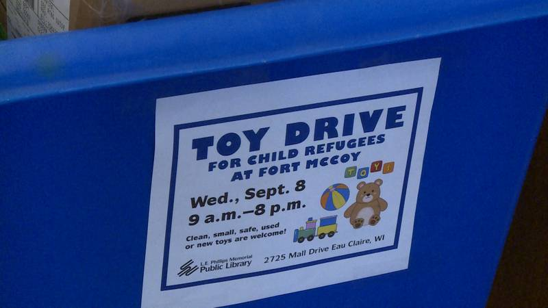 The L.E. Phillips Memorial Public Library is hosting a toy drive supporting Afghan refugees at...