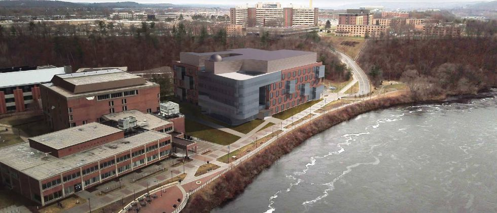 Rendering of the proposed Science and Health Science Building