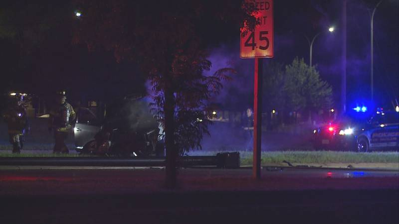 A single-vehicle crash resulted in an OWI citation early Friday morning on Clairemont Avenue in...