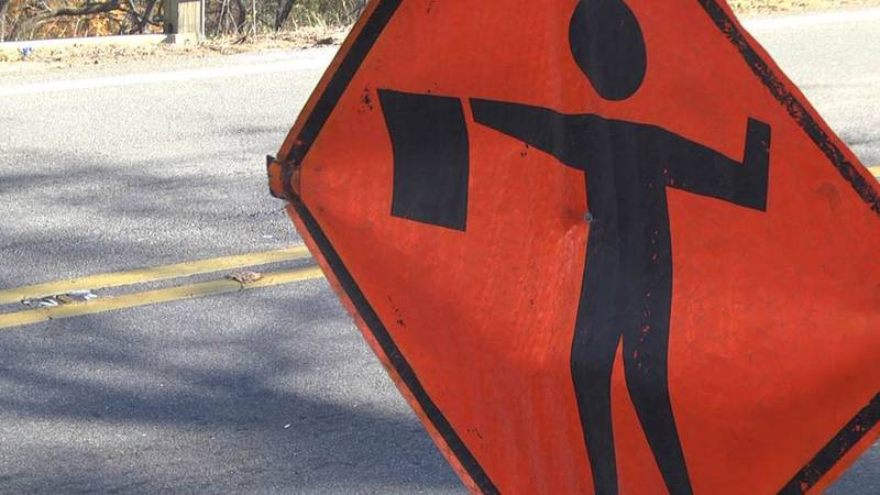 Traffic control measures will be in place from 7 until 11 a.m. each day.
