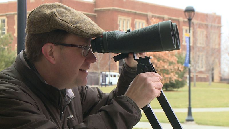 Nathan Miller, UWEC Physics and Astronomy professor gears up for Dec. 21 'Great Conjunction.'