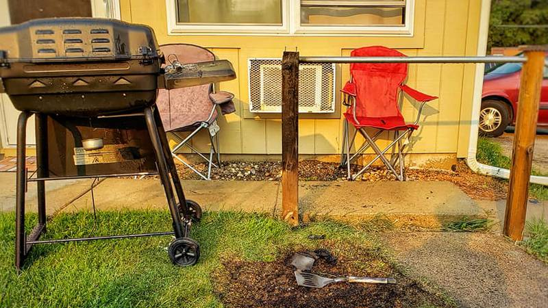 Black River Falls Fire and Rescue urges grill safety.