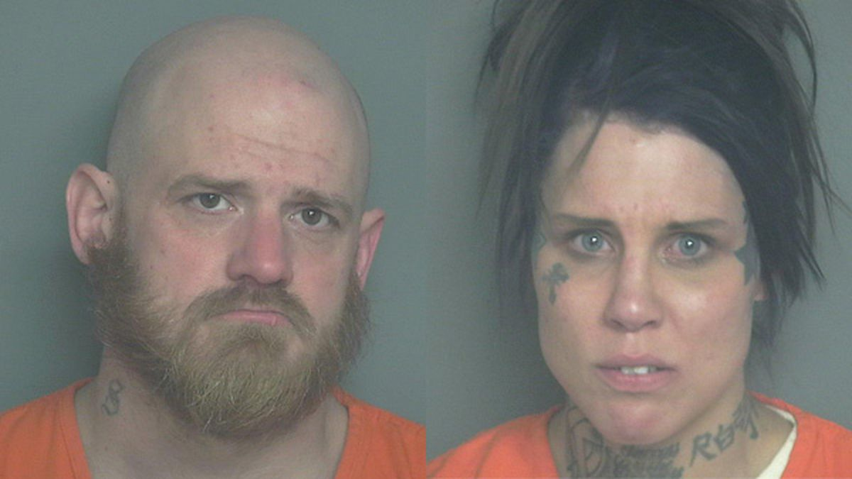 Nathan Stevens and Brandolyn Charles were arrested Wednesday.