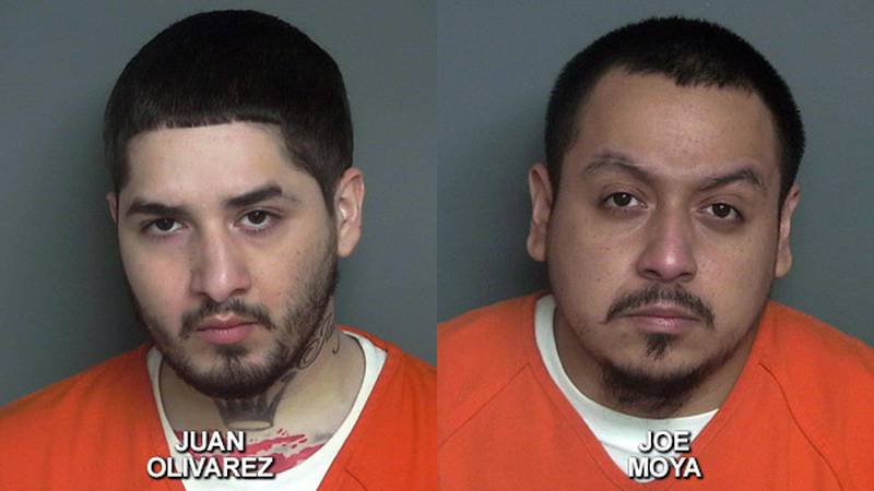 25-year-old Juan Olivarez and 28-year-old Joe Moya are suspects in a homicide case from 2020 in...