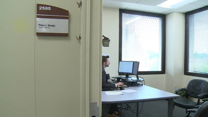 Peter Rindal is Eau Claire County's new District Attorney following the resignation of Gary King.