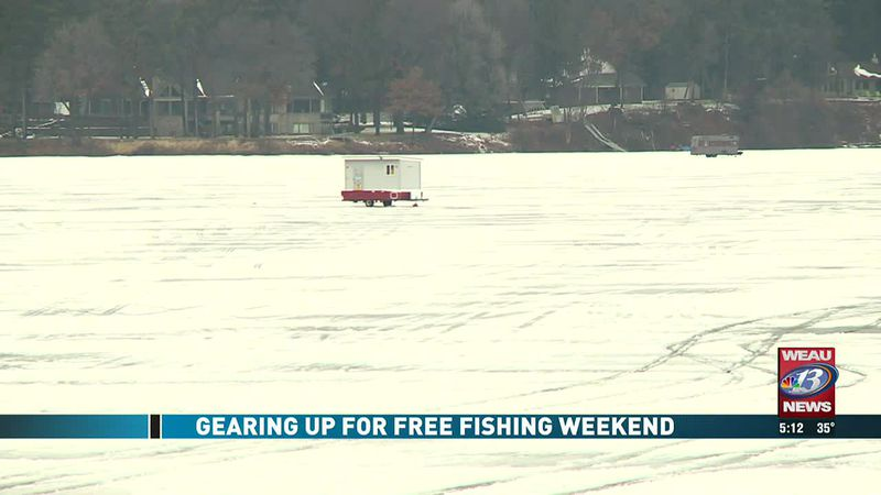 Gearing Up For Free Fishing Weekend
