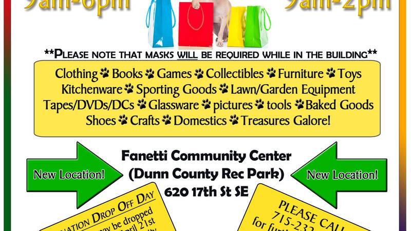DCHS rummage/bake sale fundraiser
