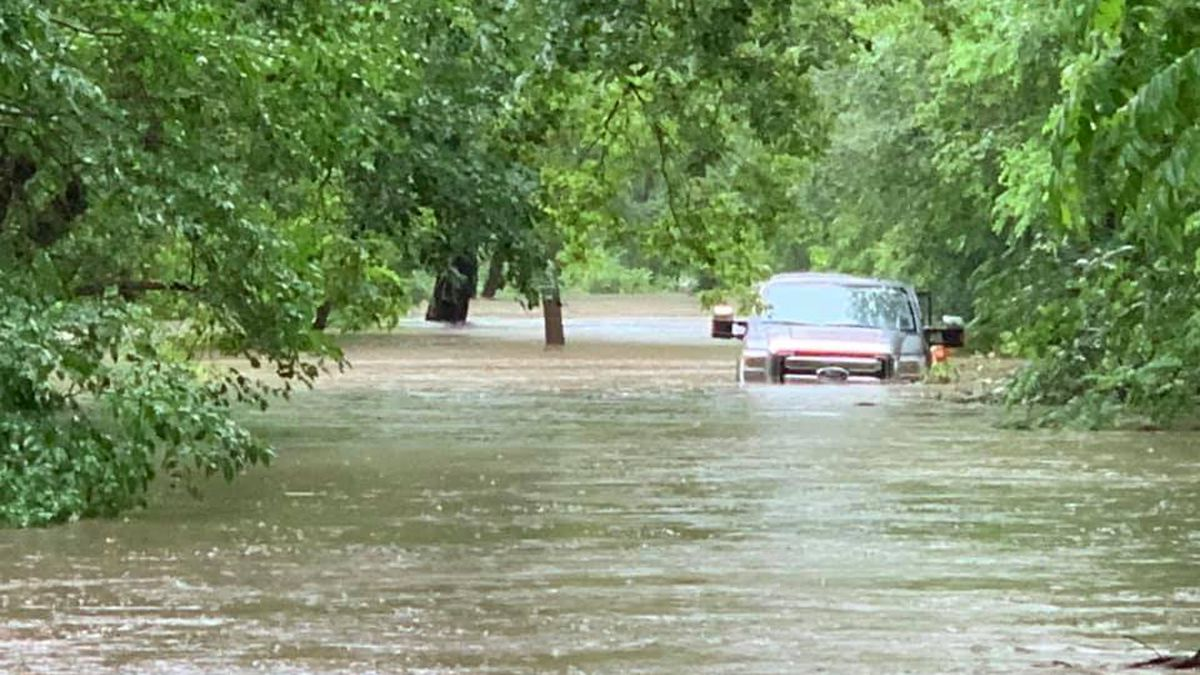 Pierce County roads are flooding due to the recent storm.