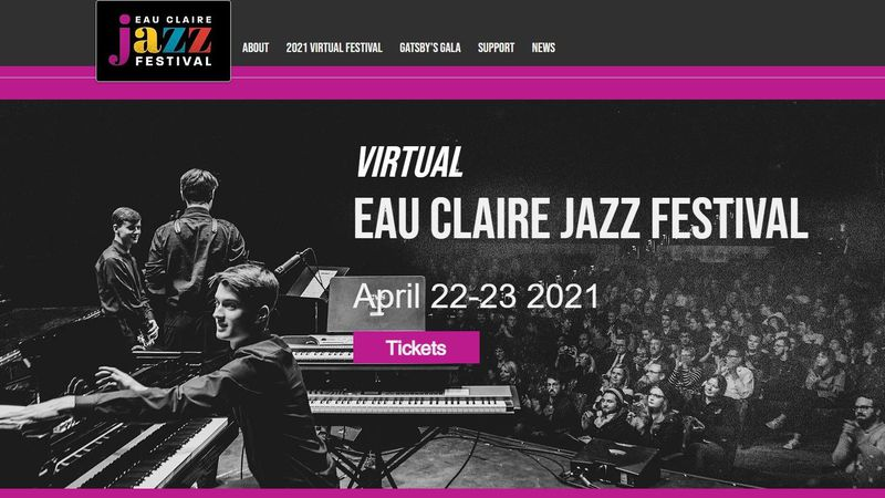 The Jazz Festival is virtual this year