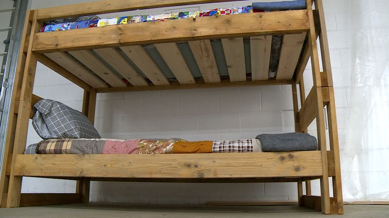 Bunk bed made by the non profit